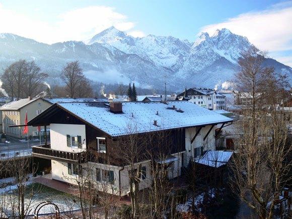 Гора Цугшпице