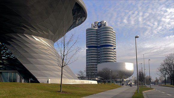 Музей БМВ - Комплекс зданий BMW: BMW – Welt, BMW – Museum, главный штаб концерна BMW.