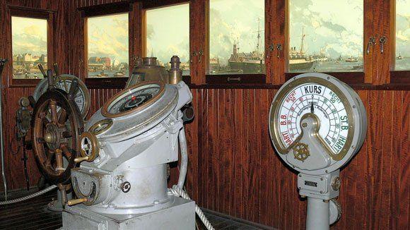 Немецкий Музей – капитанский мостик судна