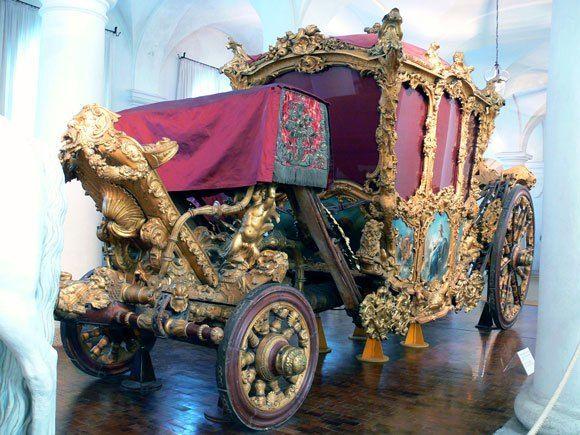 Музей карет Дворца Нимфенбург - Карета XIX века