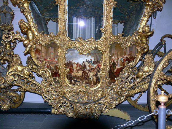Музей карет Дворца Нимфенбург - Шедевр каретного барокко
