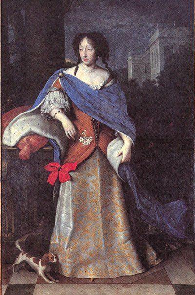 Краткая история дворца Нимфенбург - Генриетта Аделаида Савойская, курфюрстина Баварии. Неизвестный художник.
