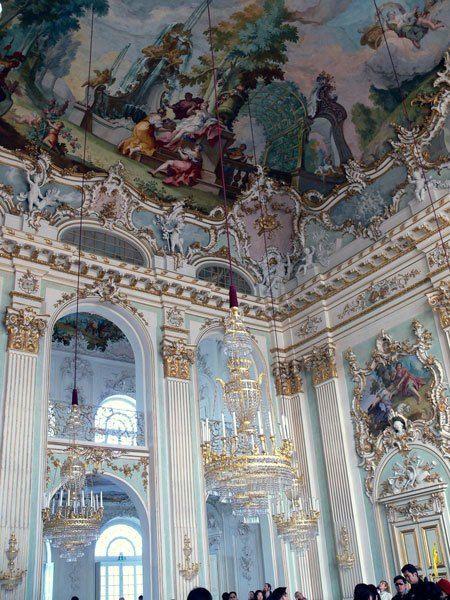 Парадный зал Дворца Нимфенбург
