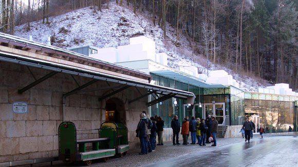Экскурсионный павильон соляных шахт Берхтесгаден