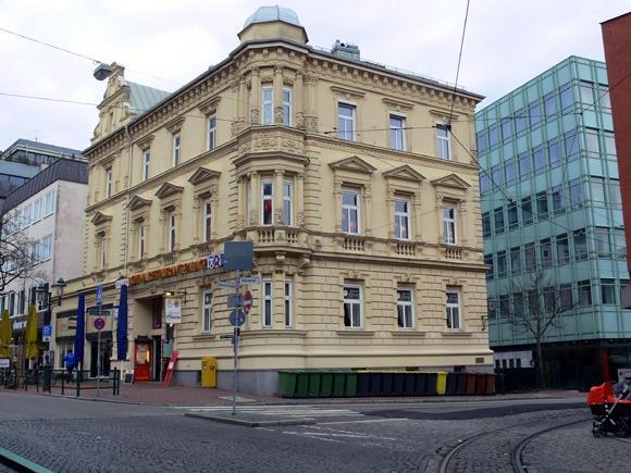 История Аугсбурга. Bahnhofstrasse.