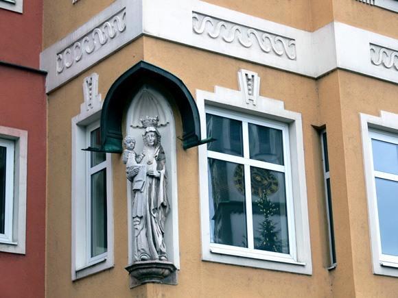 История Аугсбурга. Красота и оберег дома.