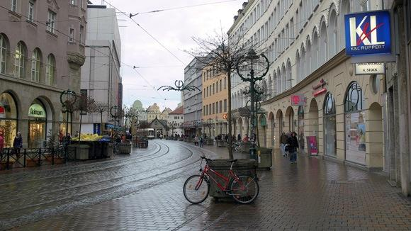 История Аугсбурга. Fischerstrasse.