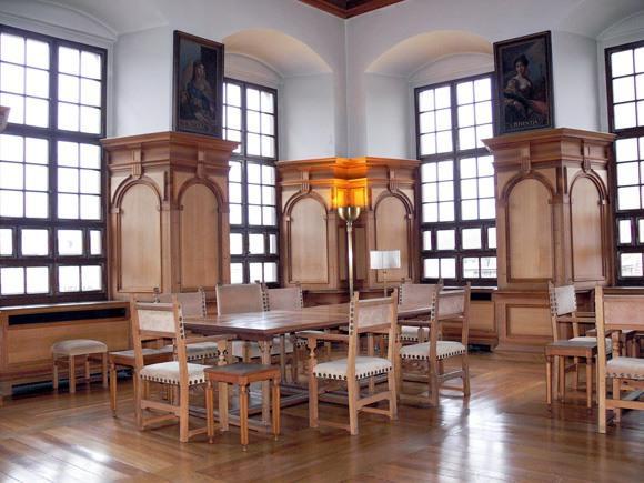 Ратуша Аугсбурга - Комната для отдыха участников собраний