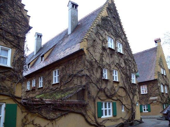 Дома поселка Фуггерай