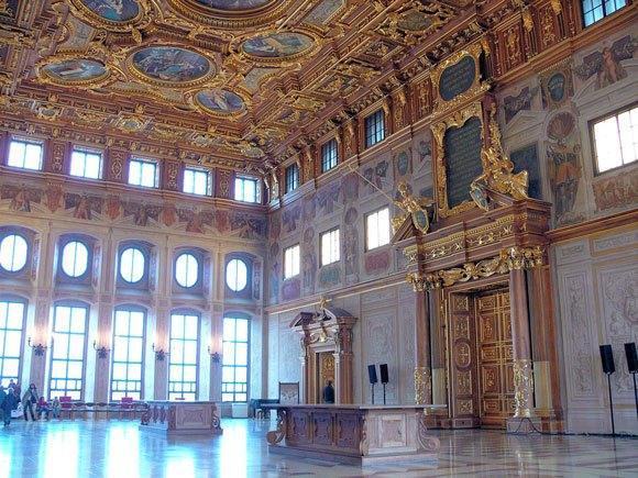 Золотой зал Ратуши Аугсбурга