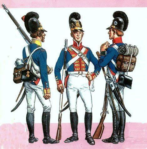 Баварская пехота.