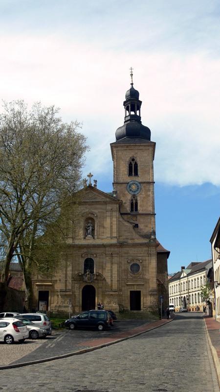 Экскурсия в Бамберг. Церковь Св. Якоба (1065 год).