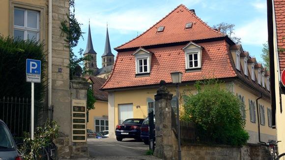 Экскурсия в Бамберг. На улицах Бамберга.
