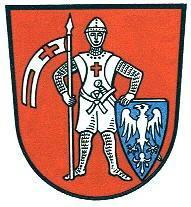 Старый Город Бамберга. Герб Бамберга.