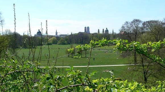 Моноптер в Английском Саду Мюнхена