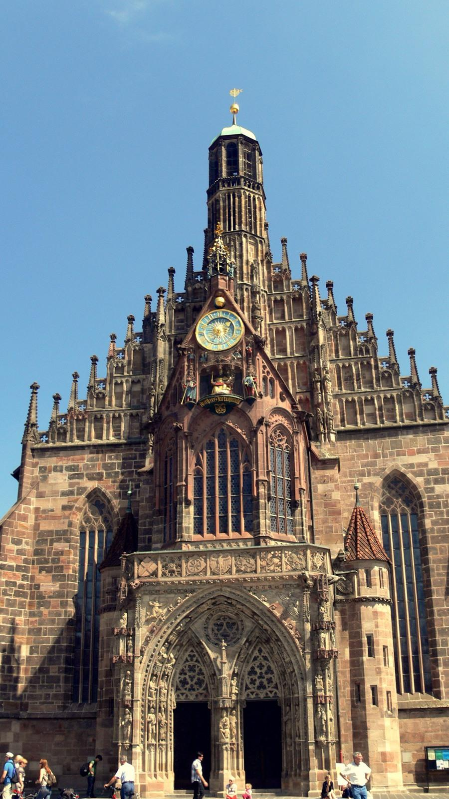 Церковь Богоматери (Frauenkirchen) Нюрнберга