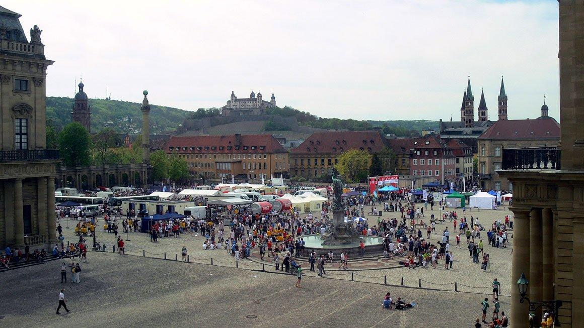 Резиденция Вюрцбурга