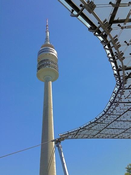 Мюнхен. Олимпийская башня (Olympiaturm)