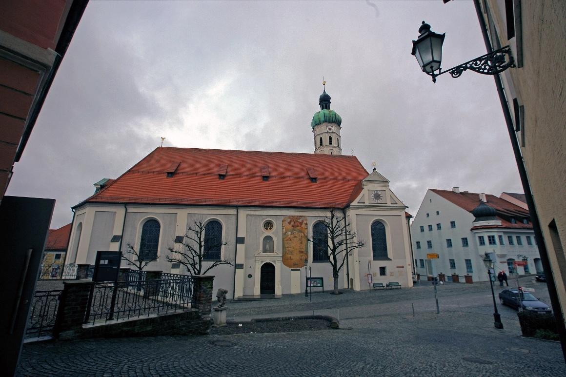 Дахау, Бавария. Церковь Святого Якова.