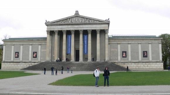 Мюнхен. Музейный квартал. Государственное античное собрание.