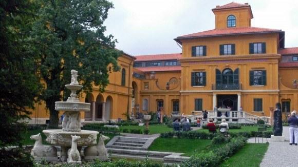 Ленбаххаус. Вилла Франца фон Ленбаха с садом.