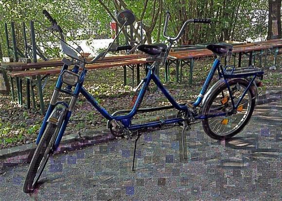 Аукцион подержанных велосипедов. Тандем «диктатура»