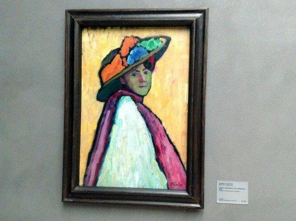 Ленбаххаус. Габриэль Мюнтер, портрет Марианны Веревкиной.