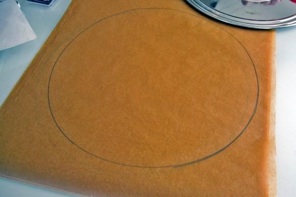 Торт Принц-регент (Prinzregententort). Получились вот такие круги на бумаге.