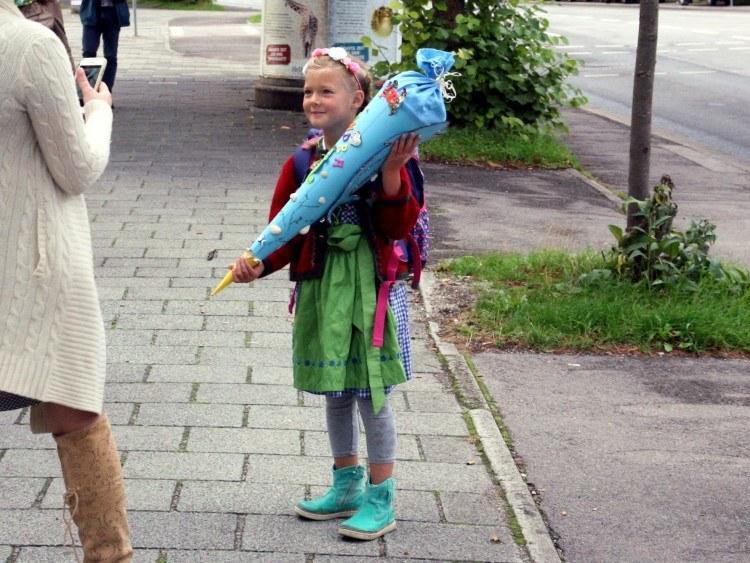 Школы Баварии. В первый класс в полной готовности.