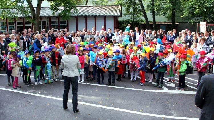 Школы Баварии. Торжество по случаю начала учебного года.