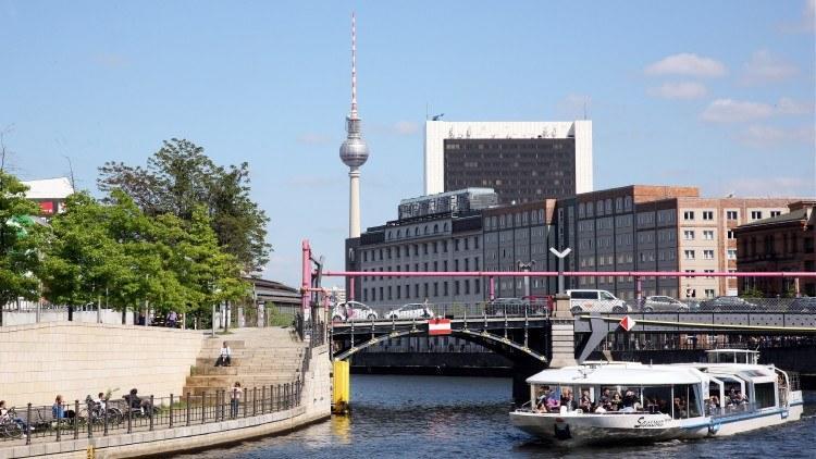 Идем к центру Берлина
