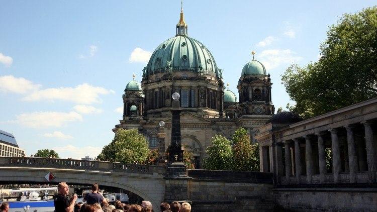 Музейный остров, громада Берлинского собора (Berliner Dom)