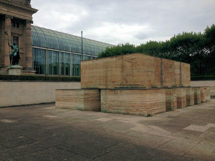 Крипта - центральная часть мемориала погибшим в Первую Мировую Войну