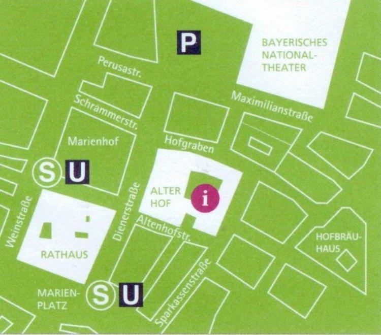 Схема расположения Старого двора
