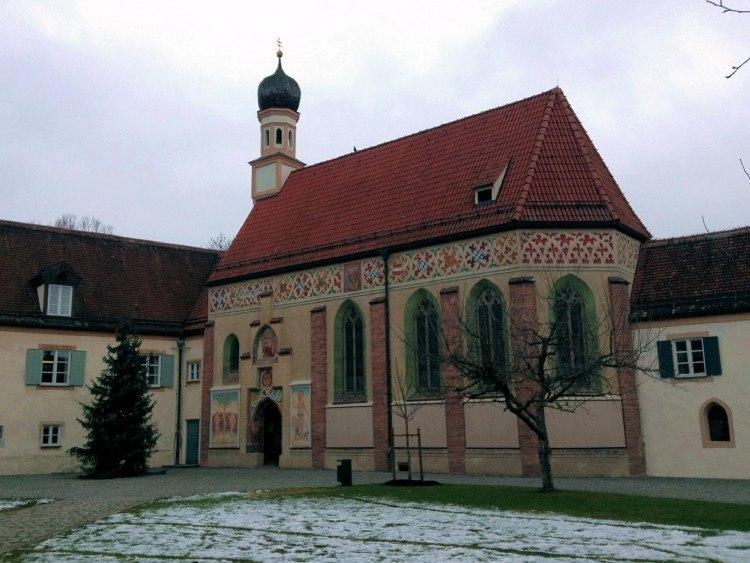 Замковая капелла Замка Блютенбург