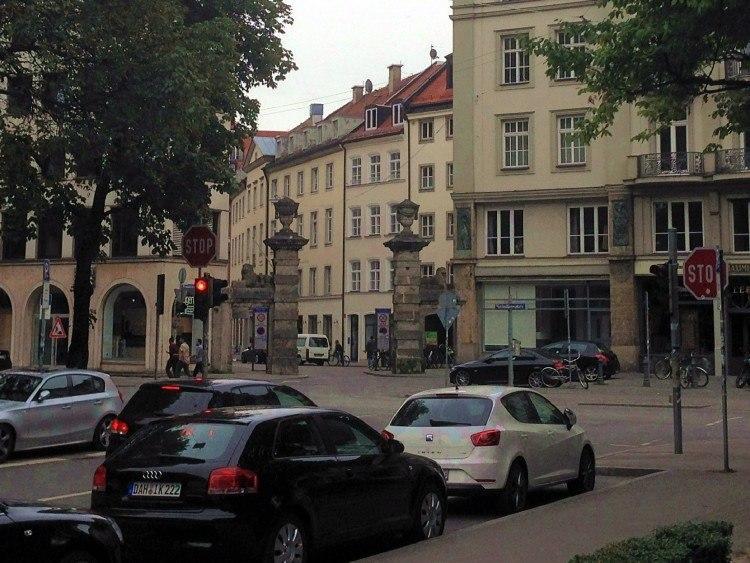 Максимилиансплац. Ворота Maxtor
