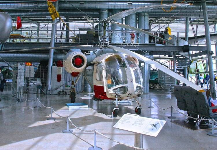 Вертолет Камова.