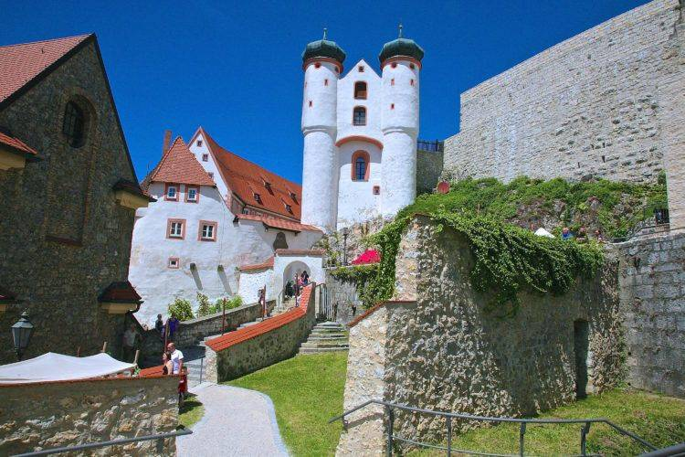 Замок Парсберг.