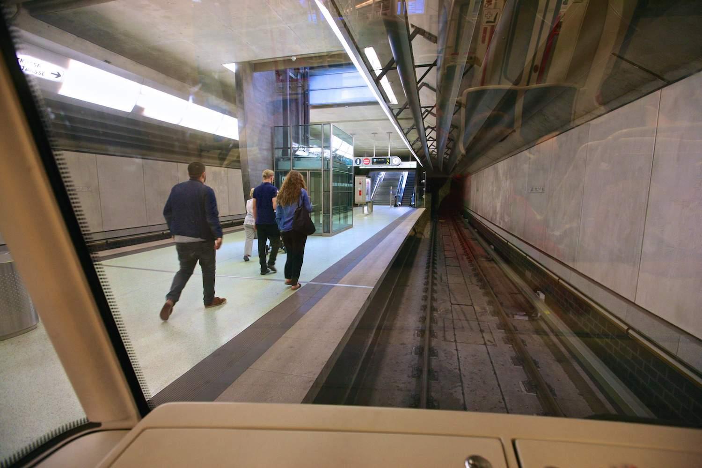 Станция «Rathenauplatz»