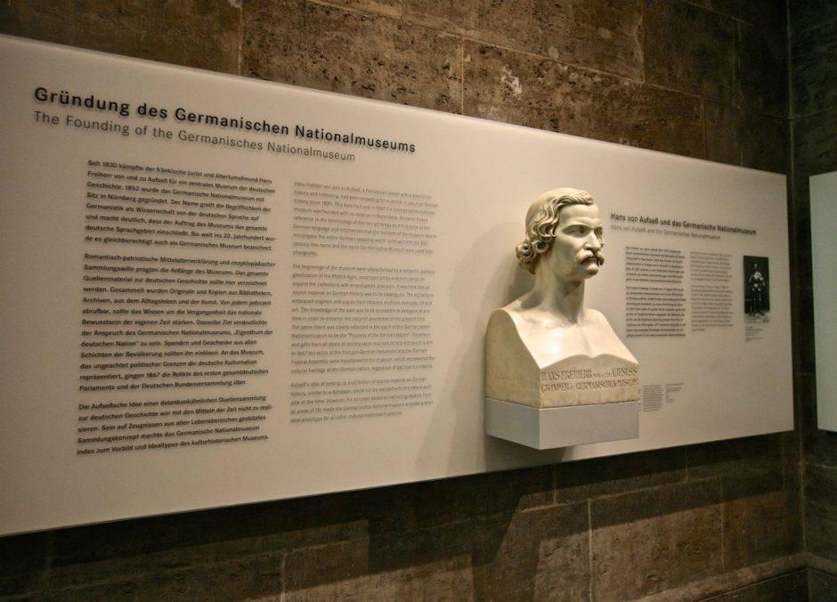 История основания Германского национального музея.