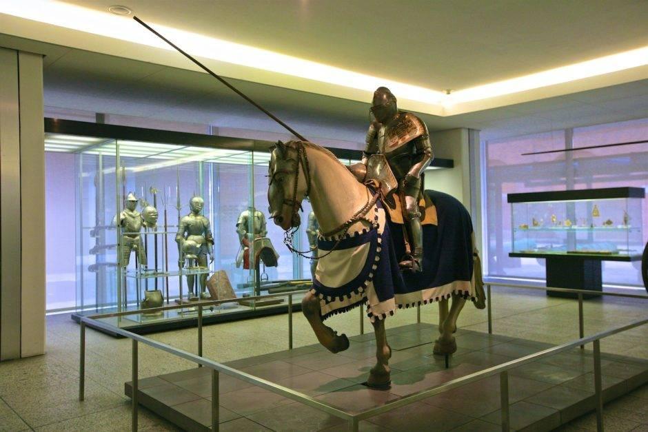 Снаряжение конного рыцаря