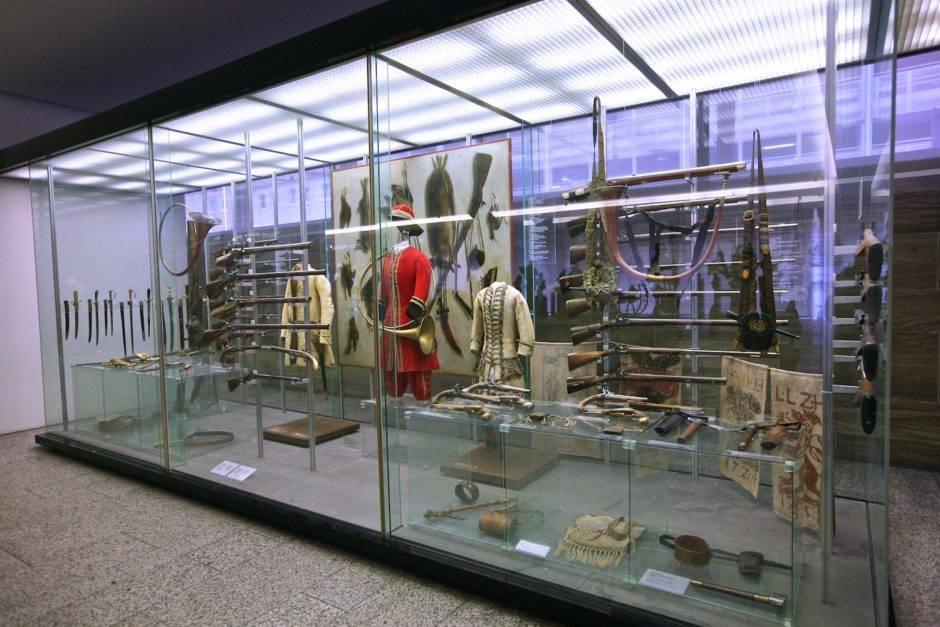 Охотничье снаряжение XVIII века