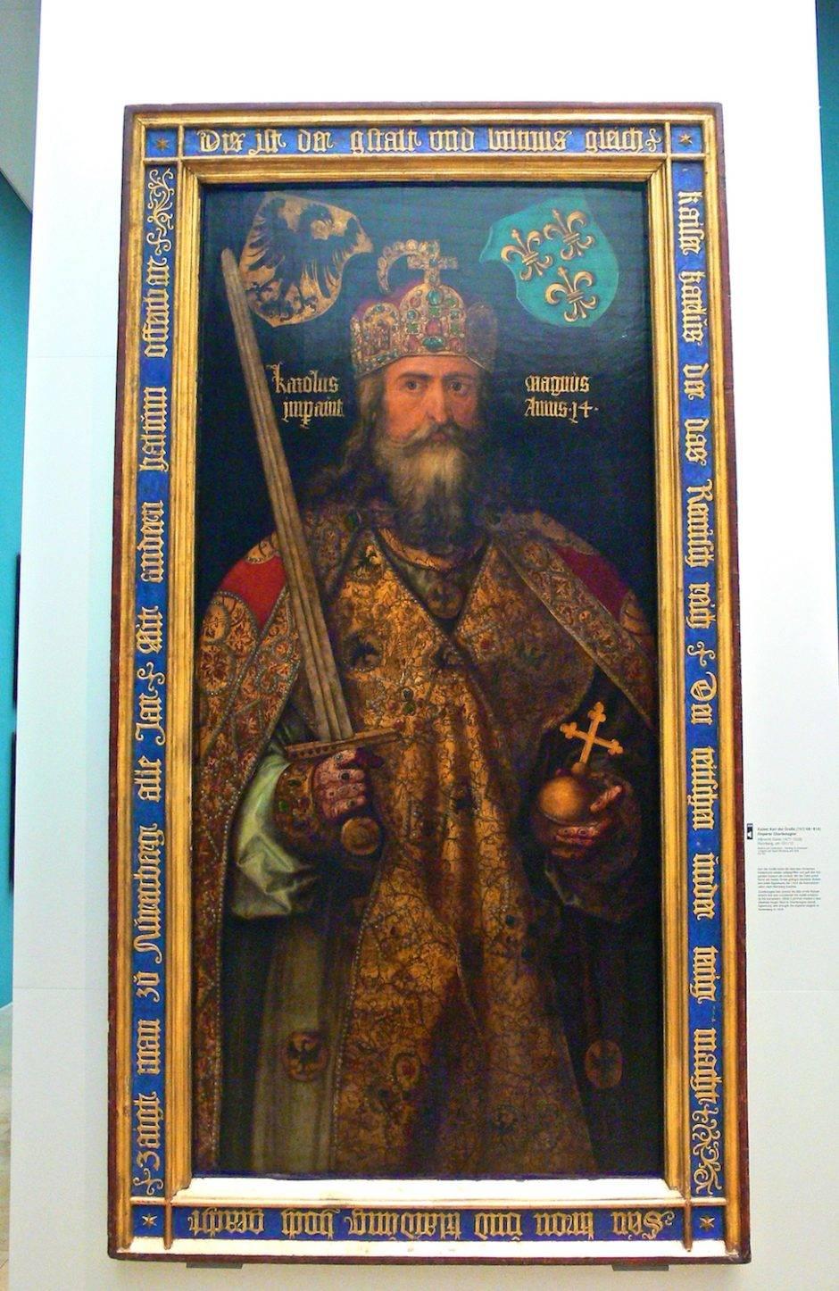 «Карл Великий». Альбрехт Дюрер, 1513.