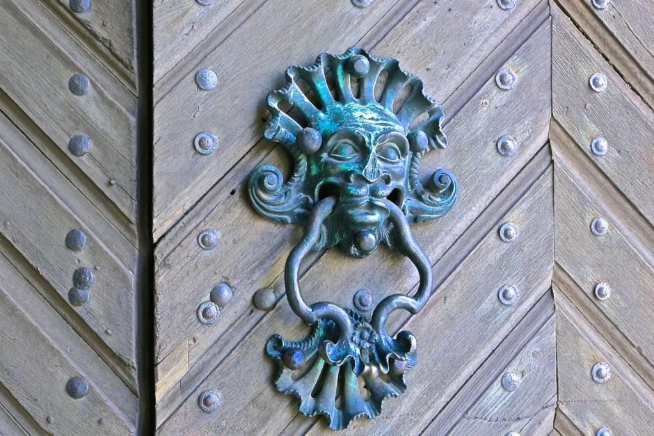 Ворота замка Нойбург