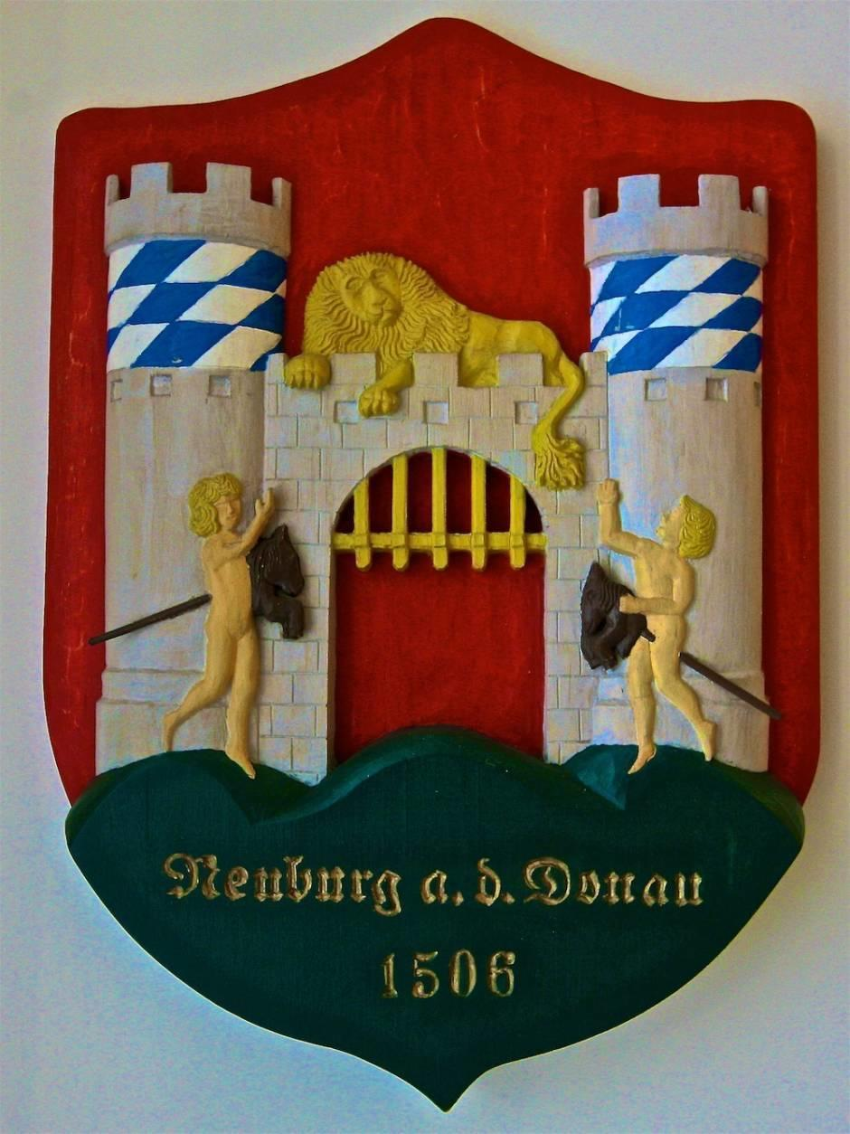 Герб княжества Пфальц-Нойбург
