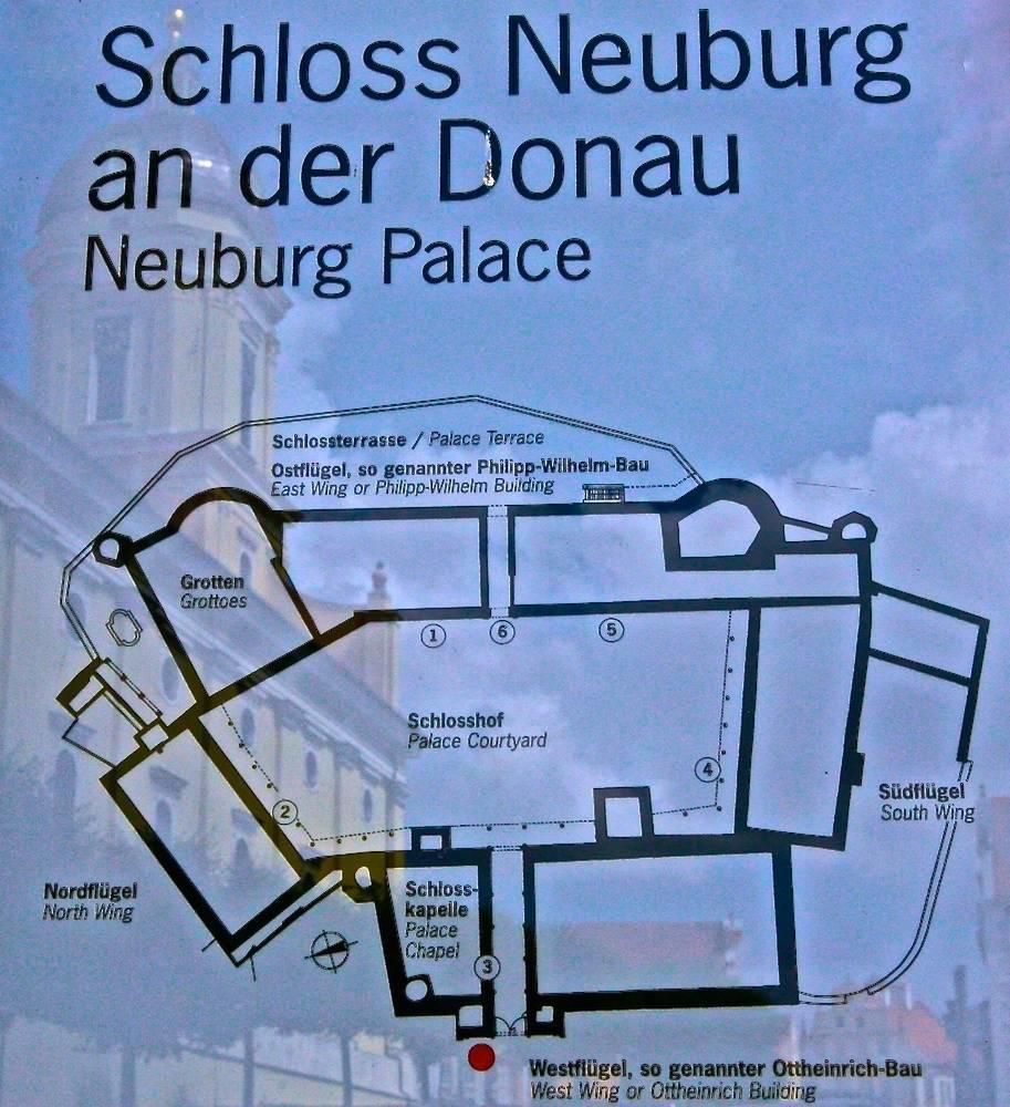 План замка Нойбург