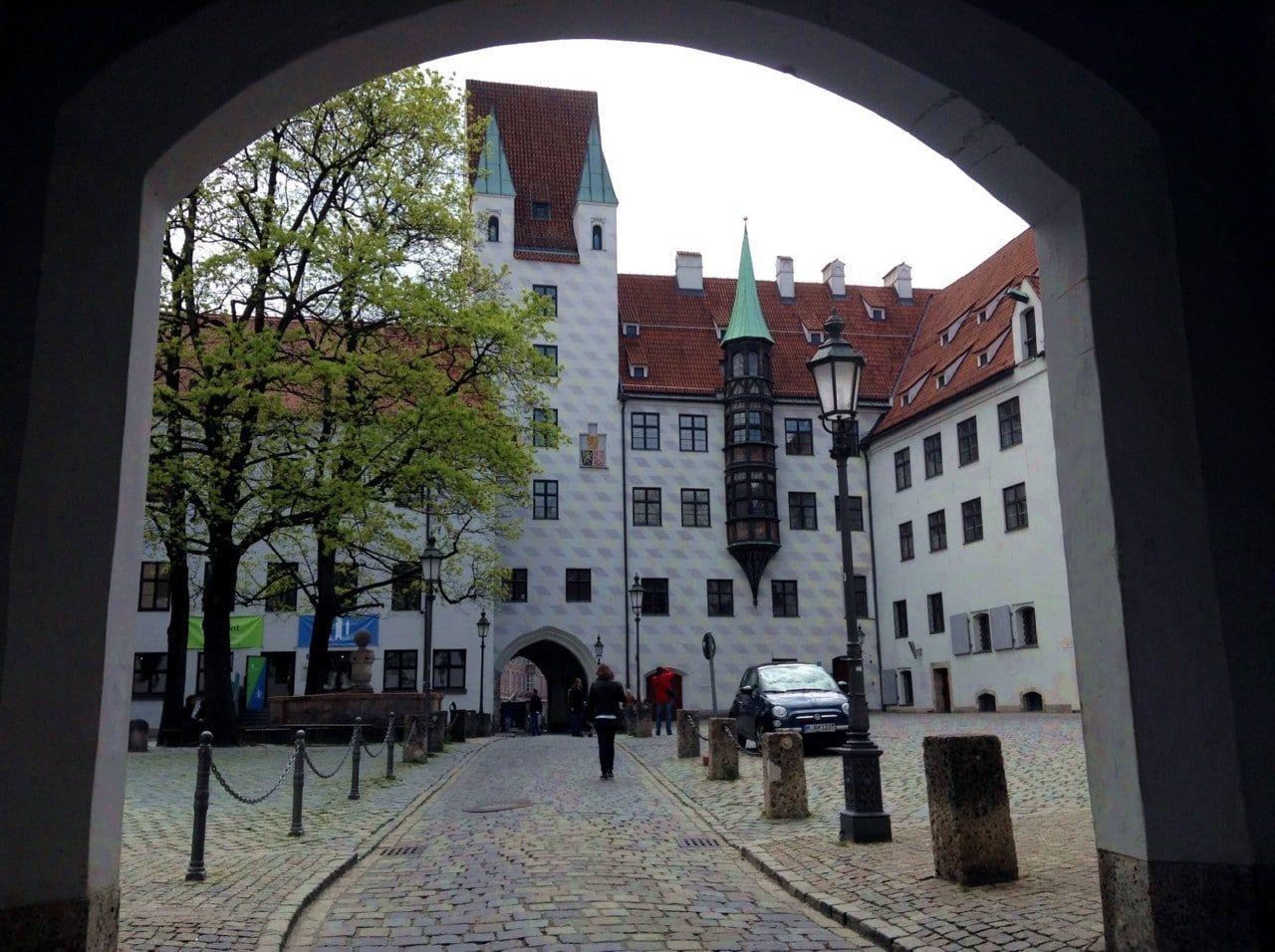 Старый двор (Alter Hof) Мюнхена
