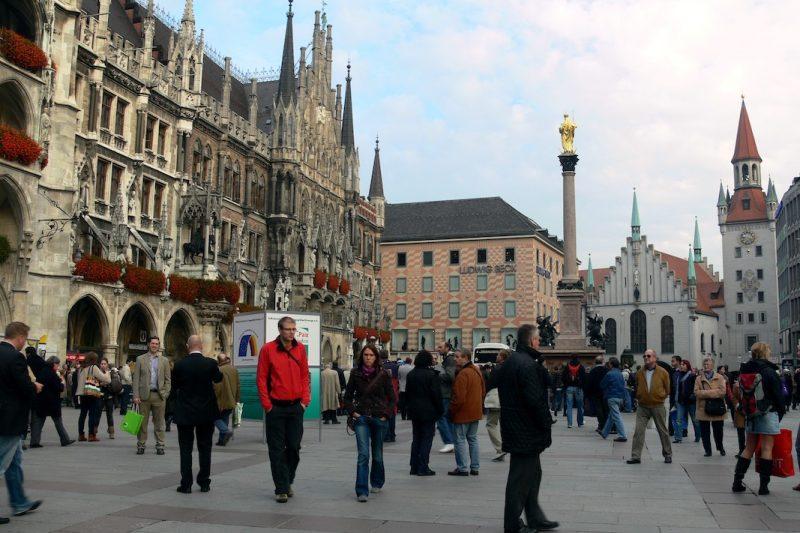 fotofahrt 001 marienplatz